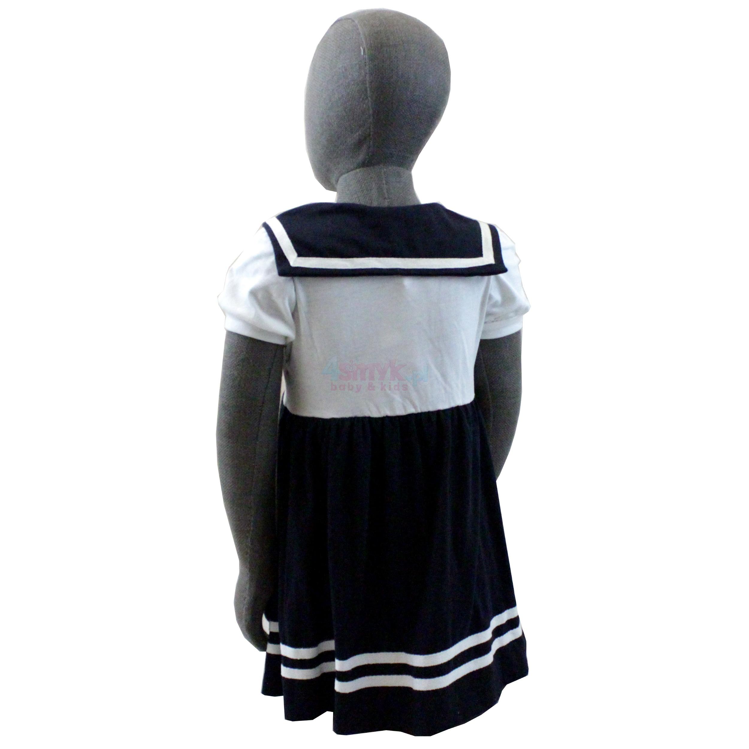 9c4e059b55 Letnia sukienka o marynarskim wzorze    4smyk.pl